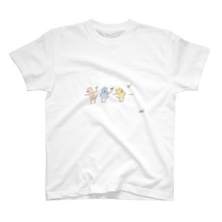 3匹が行く。 T-shirts