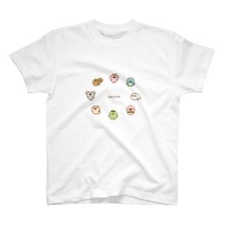 chackmoドットキャラグッズ(円) T-shirts