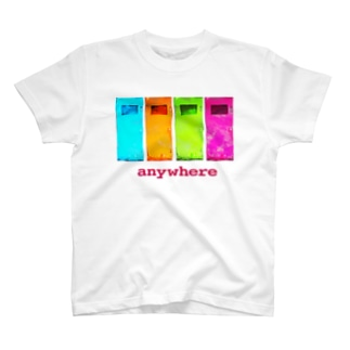 anywhere T-shirts
