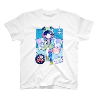 梅雨入りサンデー+. Tシャツ