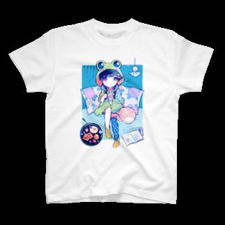 きあとの梅雨入りサンデー+. T-shirts