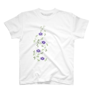鉄扇の花 T-shirts