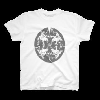 ツバメ堂のかえるのうた T-shirts