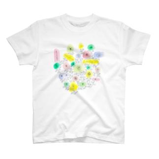 お花やさん T-shirts