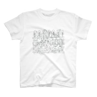 超生命体シリーズ T-shirts