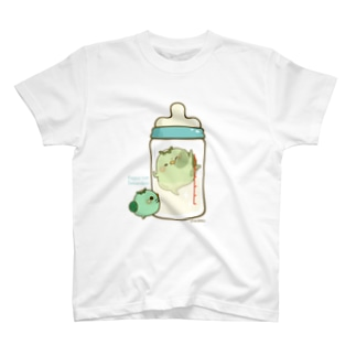 chackmo かっぱさん(哺乳瓶) T-shirts