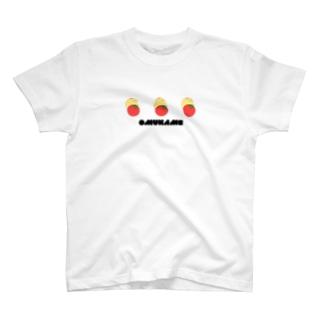 トマトとオムかめ T-shirts