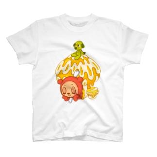 ジップベア きのこハウス T-shirts