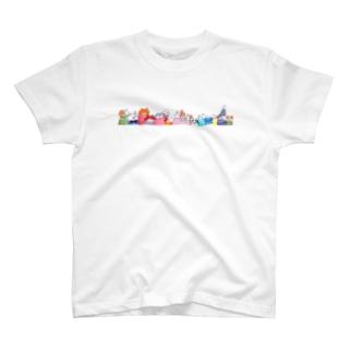 小さいねこたち T-shirts