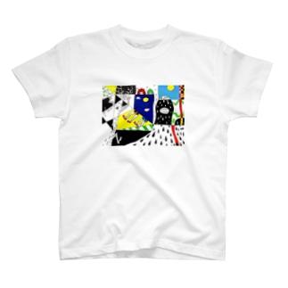 シャドーMonsterと鬼っ子 T-shirts