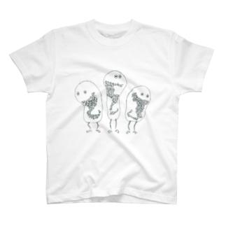 みつごちゃん T-shirts