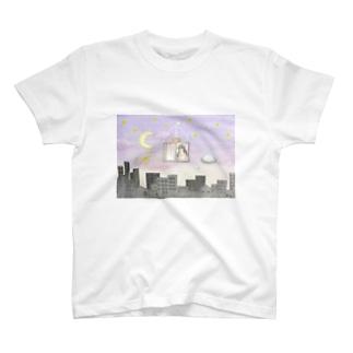 夜間非行 T-shirts