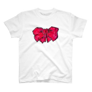 あかいりぼん T-shirts