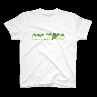 をかしのめじろ押し T-shirts