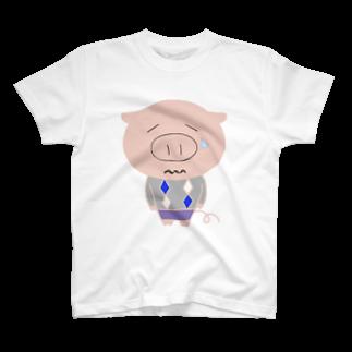 tankovuのやんなっちゃうブーちゃん T-shirts