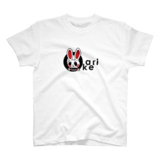愛娘が書いてくれた手紙から生まれたキャラクター【おかえりRabbit】 T-shirts