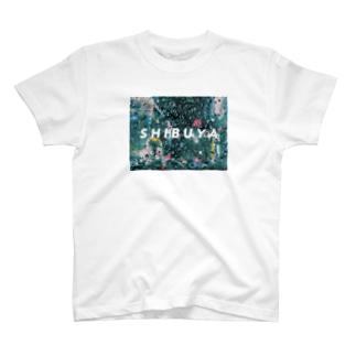 雨の夜、SHIBUYA T-shirts