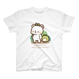 森のしろくま T-shirts