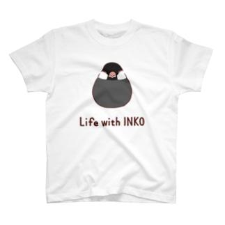 インコまんじゅう(文鳥 ノーマル) T-shirts