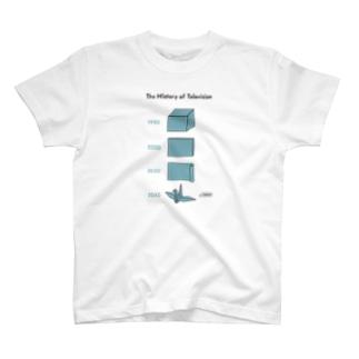 テレビジョンの歴史 03 T-shirts