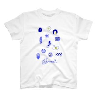 ブローチ T-shirts