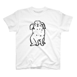 踏ん反り返ってるふぇん T-shirts