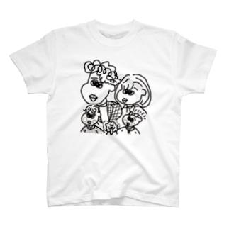 みわふぁむ T-shirts