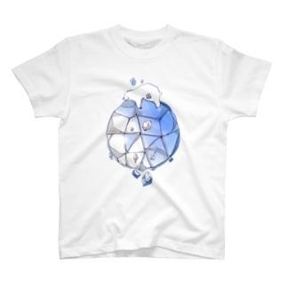 氷しろくま T-shirts