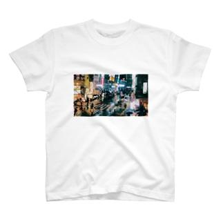 雨の夜 T-shirts