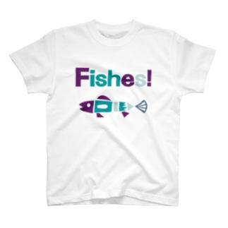 (釣りざんまい) フィッシーズ T-shirts