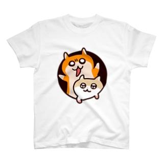 異空間から飛び出るハムたち T-shirts