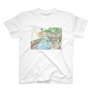 ルナポートタウン T-shirts