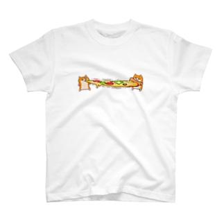 ピザビヨーンクソハム T-shirts