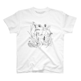 ハーブ T-shirts