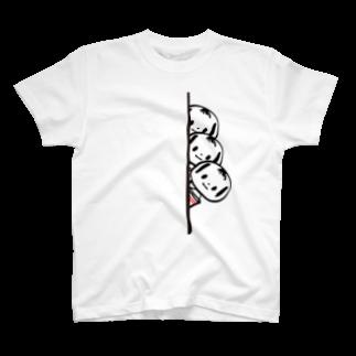 COULEUR PECOE(クルールペコ)  のめんこいこけし(チラリ×3 T-shirts
