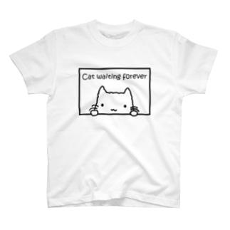 まってるしろねこ T-shirts