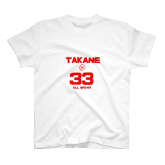 ALLs TAKANE MARINA  Tシャツ専用 期間限定品 T-shirts