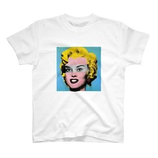マリリン・ヘプバーン T-shirts