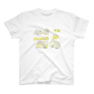 レモンとゾウ T-shirts