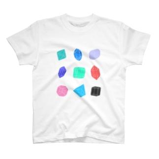 クリスタル T-shirts