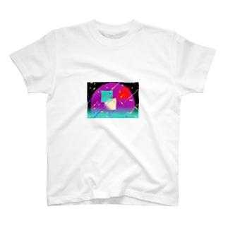 Pixel Color Composition ll T-shirts