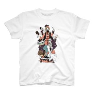 ドラム・ロール Tシャツ