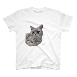 プリンちゃん 背景なし T-shirts