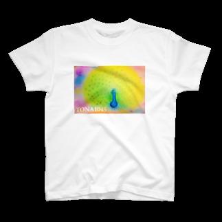 TONA1045の孔雀 T-shirts