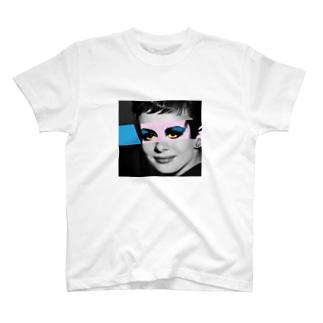 ツイッギー・ヘプバーン T-shirts