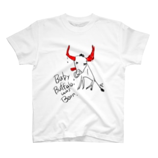 生まれたてのバッファロー T-shirts