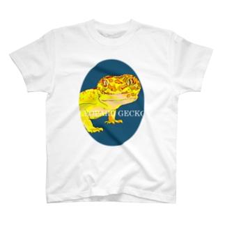ヒョウモントカゲモドキ T-shirts