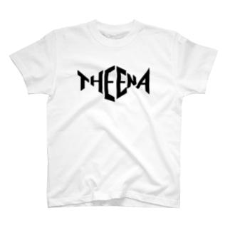 THE ENA ロゴTシャツ 黒字 T-shirts