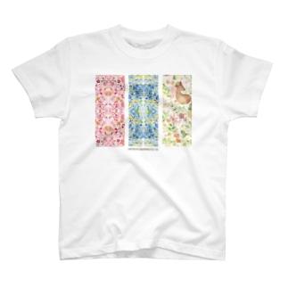 春から初夏へのたより T-shirts