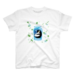 ペンギンの瓶詰めE T-shirts